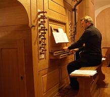 Francis Jacob à l'orgue de Saessolsheim détail BD